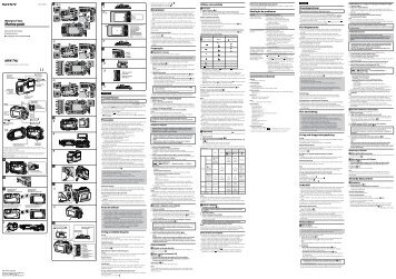 Sony MPK-THJ - MPK-THJ Istruzioni per l'uso Russo