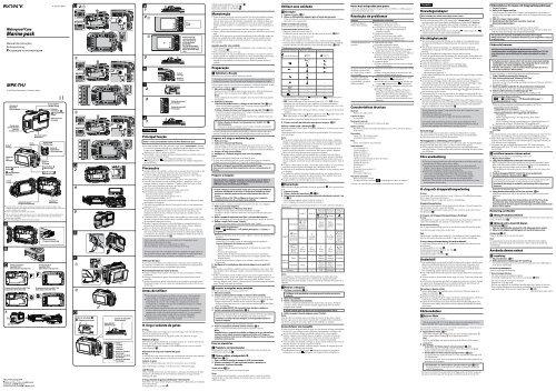 Sony MPK-THJ - MPK-THJ Istruzioni per l'uso Svedese