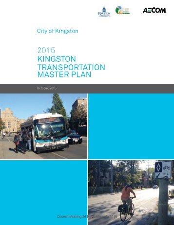 2015 KINGSTON TRANSPORTATION MASTER PLAN