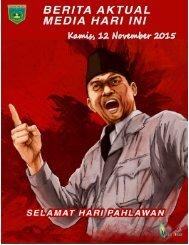 e-Kliping Kamis, 12 November 2015