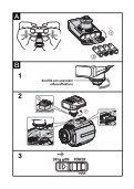 Sony HVL-10NH - HVL-10NH Istruzioni per l'uso Ceco - Page 5