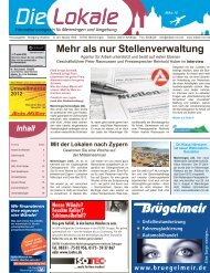 Download Ausgabe März 2012 - Lokale Zeitung Memmingen