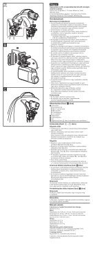 Sony VCT-BPM1 - VCT-BPM1 Istruzioni per l'uso Ungherese - Page 2