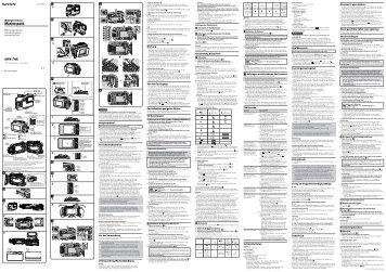 Sony MPK-THK - MPK-THK Istruzioni per l'uso Italiano