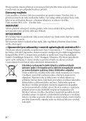 Sony HVL-LE1 - HVL-LE1 Istruzioni per l'uso Ceco - Page 4