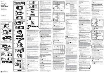 Sony MPK-THGB - MPK-THGB Istruzioni per l'uso Spagnolo