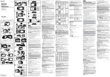 Sony MPK-THHB - MPK-THHB Istruzioni per l'uso Francese