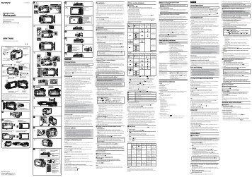 Sony MPK-THHB - MPK-THHB Istruzioni per l'uso Svedese