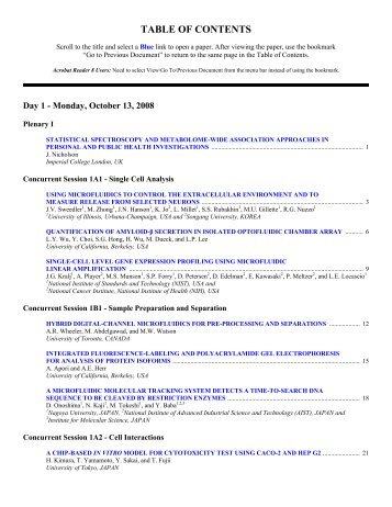 Table of Contents - Royal Society of Chemistry