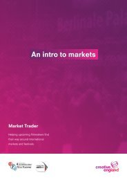 An intro to markets