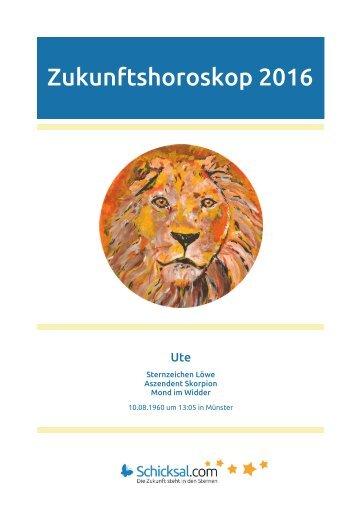 Löwe – Zukunftshoroskop 2016
