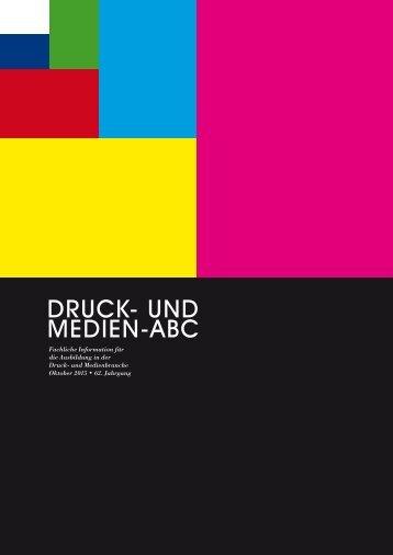 DRUCK- UND MEDIEN-ABC