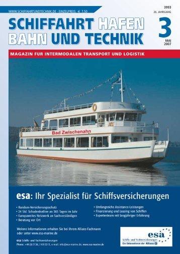 magazin fur intermodalen transport und logistik - Schiffahrt und ...