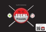 Sushi & Getränke