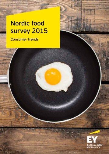Nordic food survey 2015
