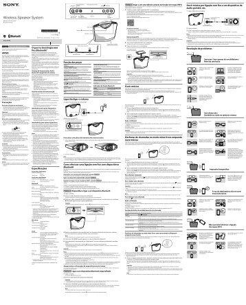 Sony SRS-BTM8 - SRS-BTM8 Istruzioni per l'uso Svedese