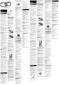Sony RDP-M15iP - RDP-M15IP Istruzioni per l'uso Svedese - Page 2
