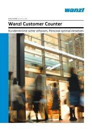 Wanzl Customer Counter