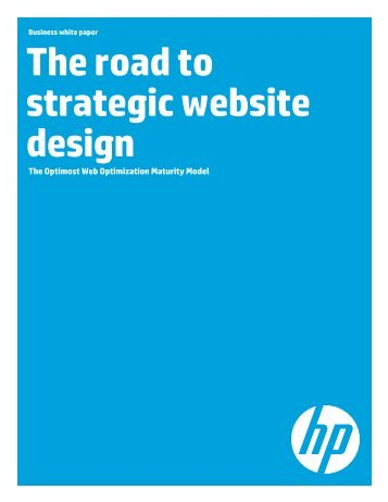 The road to strategic website design