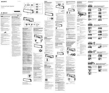 Sony SRS-BTX300 - SRS-BTX300 Istruzioni per l'uso Svedese