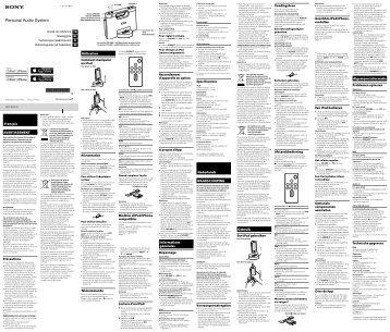 Sony RDP-M7iPN - RDP-M7IPN Istruzioni per l'uso Francese