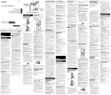 Sony RDP-M7iPN - RDP-M7IPN Istruzioni per l'uso Italiano