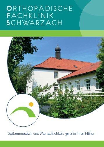 Orthopädische Fachklinik Schwarzach