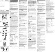 Sony RDP-NWG400B - RDP-NWG400B Istruzioni per l'uso Italiano