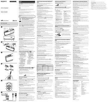 Sony RDP-NWG400B - RDP-NWG400B Istruzioni per l'uso Greco