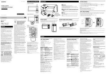 Sony RDH-GTK11iP - RDH-GTK11IP Istruzioni per l'uso Lituano
