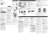 Sony RDH-GTK11iP - RDH-GTK11IP Istruzioni per l'uso Italiano