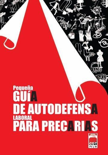 GUíA DE AUTODEFENSA PARA PRECARIAS