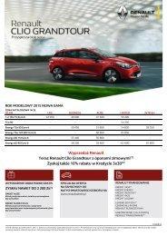 Cennik i dane techniczne - Renault