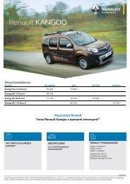 Wyprzedaż Renault Teraz Renault Kangoo z oponami zimowymi