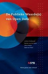 De Publieke Waarde(n) van Open Data