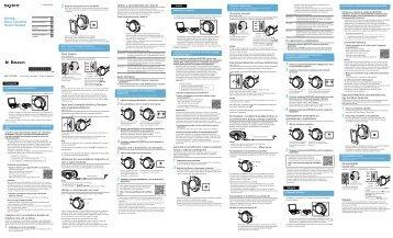 Sony MDR-ZX750BN - MDR-ZX750BN Guida di configurazione rapid Portoghese