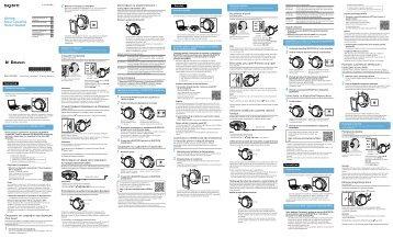 Sony MDR-ZX750BN - MDR-ZX750BN Guida di riferimento Bulgaro