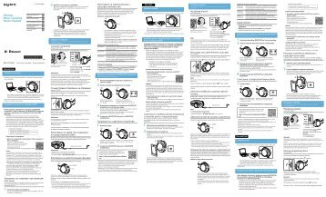 Sony MDR-ZX750BN - MDR-ZX750BN Guida di riferimento Sloveno