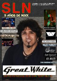 SOUNDS LIKE NEW Nº 39 (Heavy Rock Fanzine)