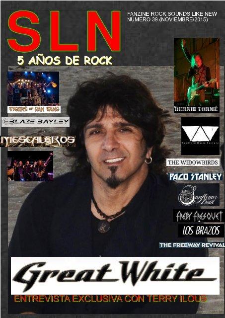 SOUNDS LIKE NEW Nº 39 (Heavy Rock Fanzine)