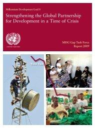MDG Gap Task Force Report 2009