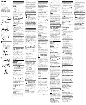 Sony MDR-XB21EX - MDR-XB21EX Istruzioni per l'uso Ucraino