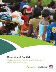 Conduits of Capital