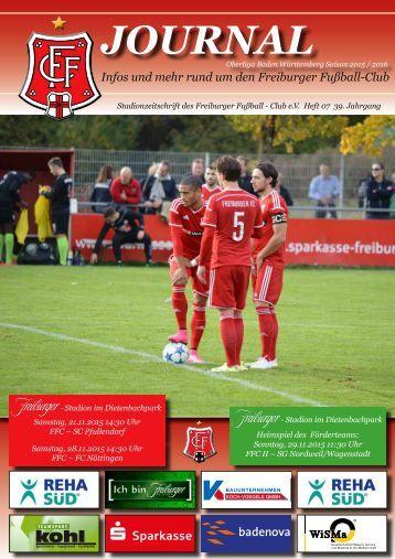 Heft 07 FFC - SC Pfullendorf-FC Nöttingen