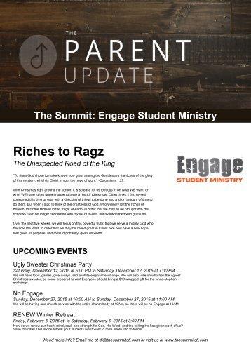 Engage November Newsletter