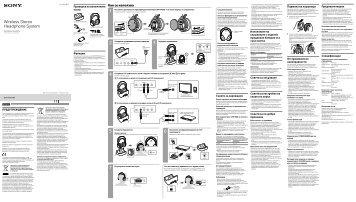 Sony MDR-RF855RK - MDR-RF855RK Istruzioni per l'uso Rumeno
