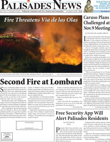 Second Fire at Lombard