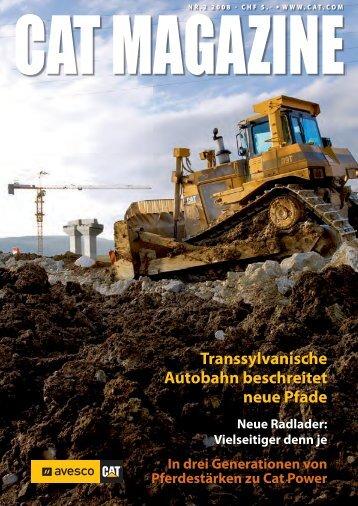 Transsylvanische Autobahn beschreitet neue Pfade