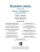 lgebra Lineal;Stanley I. Grossman - Page 5