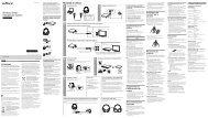 Sony MDR-HW300K - MDR-HW300K Istruzioni per l'uso Italiano